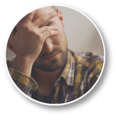 A depressed man | naturopathic medicine for anxiety and depression | Dr. Negin Misaghi, ND