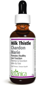 eg. of milk thistle tincture to cleanse the body