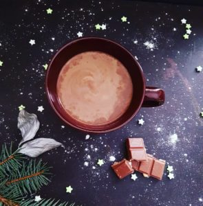 hot chocolate self care love to lose weight